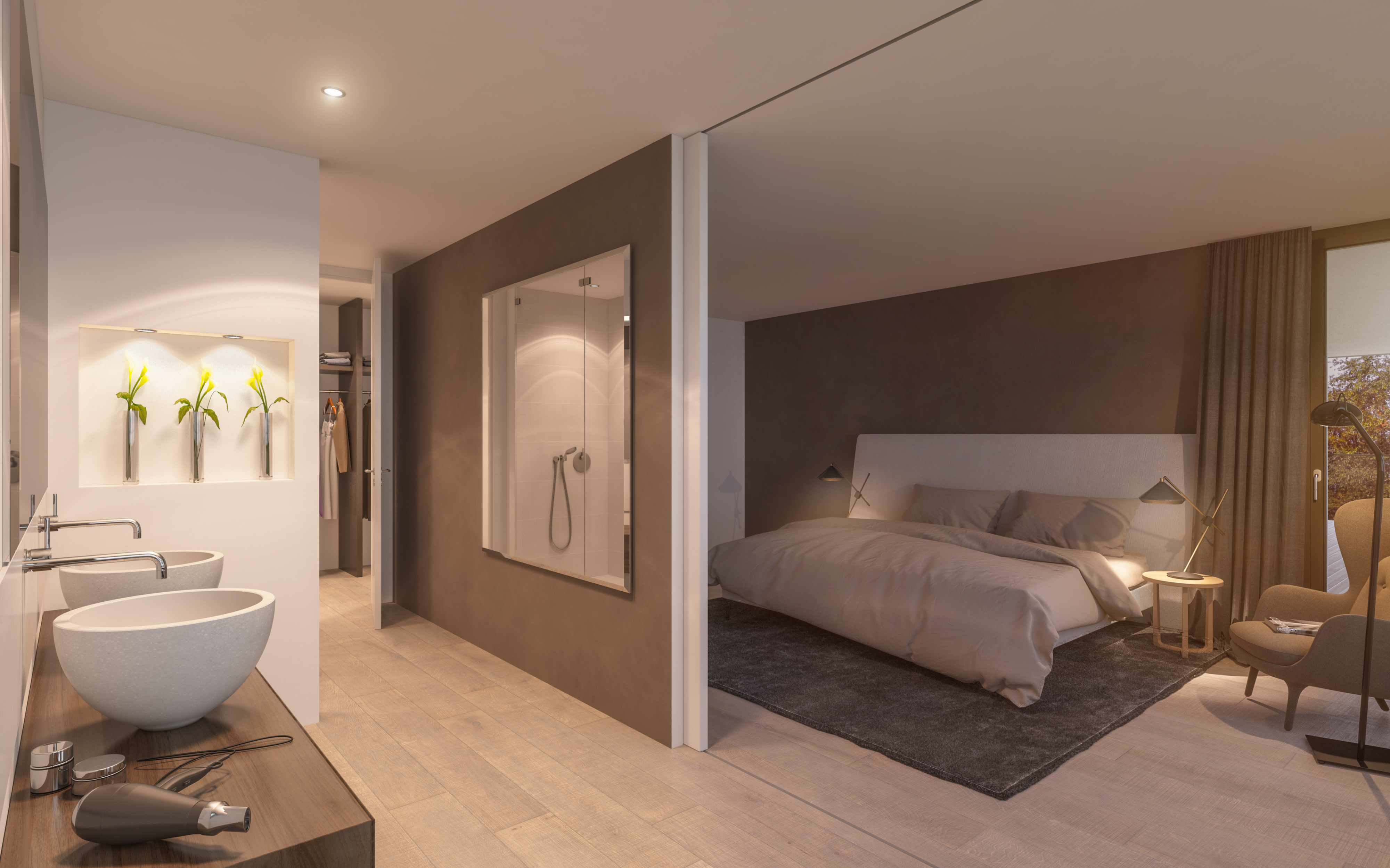 Etagenwohnung B_Bedroom